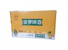 重庆啤酒纸箱-雷诺菠萝啤酒